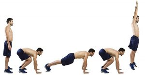 exercice musculation burpees
