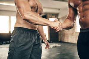 entrainement à deux musculation
